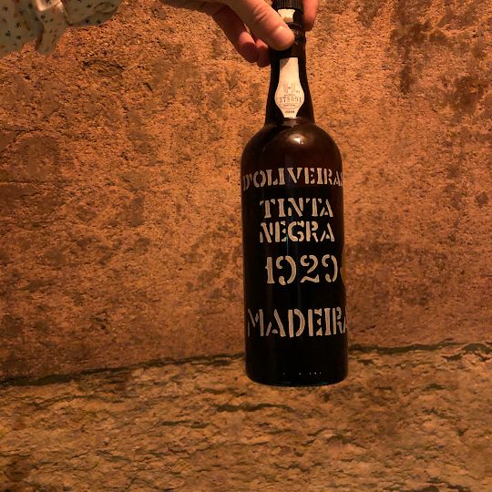 Our treasures: Madeira wine 1929