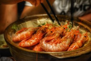 White wine and seafood: a perfect match
